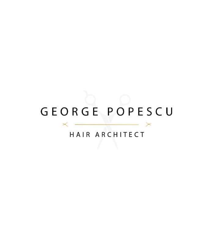 george popescu hair architect logo